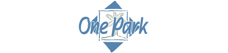 One Park Apartments logo